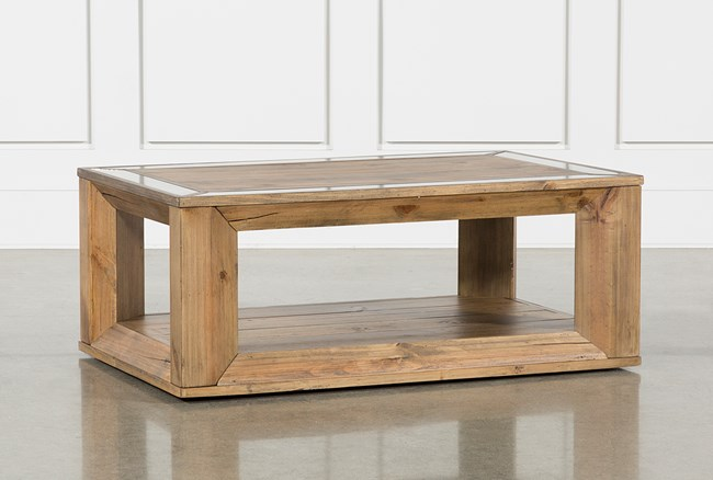 Autumn Coffee Table With Casters - 360