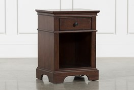 Derby Nutmeg 1-Drawer Nightstand