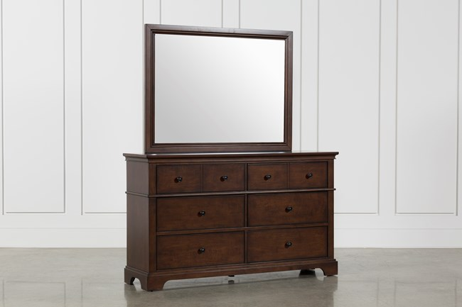 Derby Nutmeg Dresser/Mirror - 360