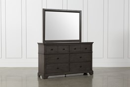 Derby Peppercorn Dresser/Mirror