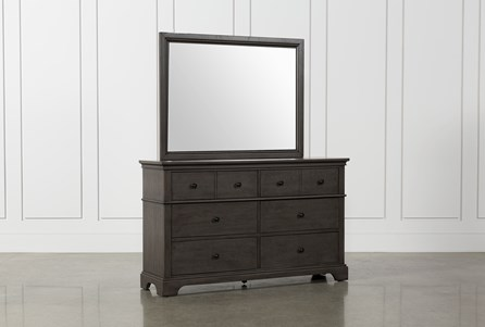 Derby Peppercorn Dresser/Mirror