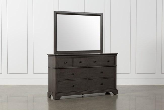 Derby Peppercorn Dresser/Mirror - 360