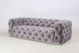 All Over Tufted Sofa