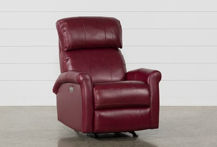 Dev Fire Power Recliner W/Pwr Headrest & Lumbar