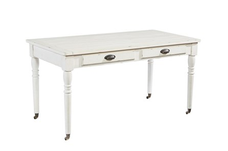 Magnolia Home Jo'S White Table Desk By Joanna Gaines