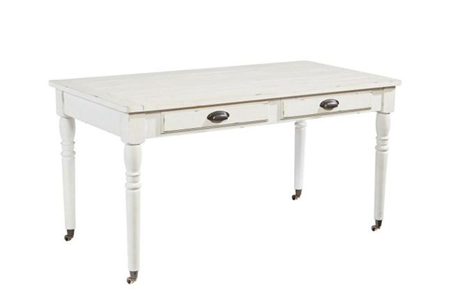 Magnolia Home Jo'S White Table Desk By Joanna Gaines - 360
