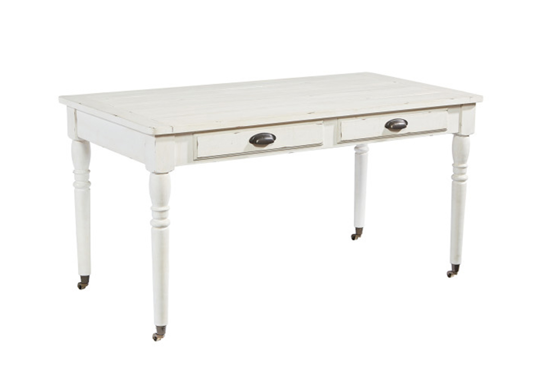 Magnolia Home Jou0027S White Table Desk By Joanna Gaines