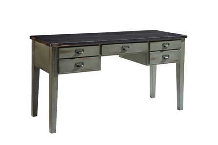 Magnolia Home Library Patina Chimney Table Desk By Joanna Gaines - Main