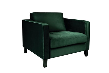 Magnolia Home Dapper Emerald Chair By Joanna Gaines