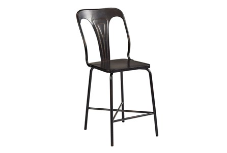 Magnolia Home Gaven Metal Stamped 30 Inch Barstool By Joanna Gaines