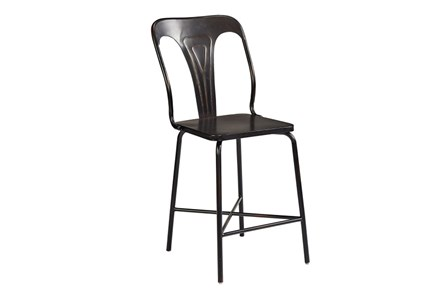 Magnolia Home Gaven Metal Stamped 30 Inch Barstool By Joanna Gaines - Main