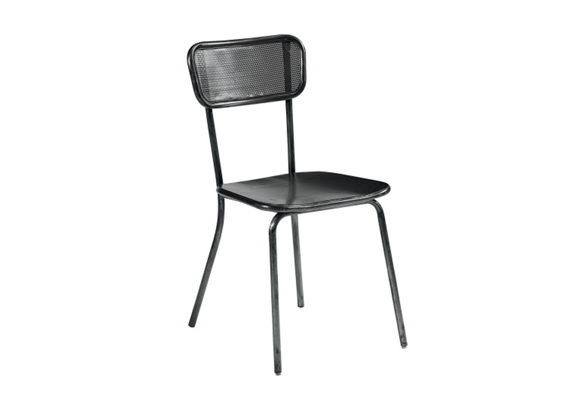 Magnolia Home Method Mesh Back Stock Metal Side Chair By Joanna Gaines  (Qty: 1) Has Been Successfully Added To Your Cart.