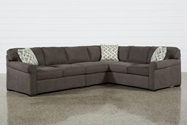 Elm Grande II 3 Piece Sectional