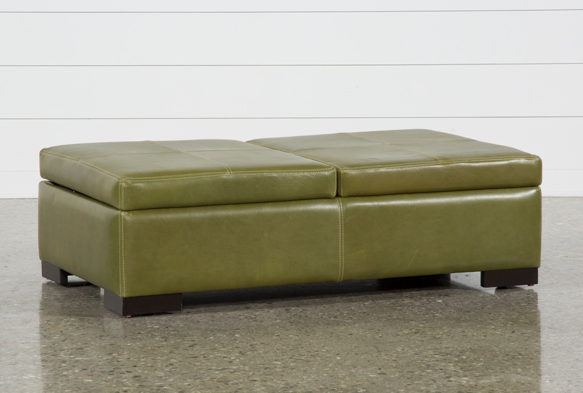 storage cocktail ottoman. Elm Grande II Leather Storage Cocktail Ottoman (Qty: 1) Has Been Successfully Added To Your Cart. C