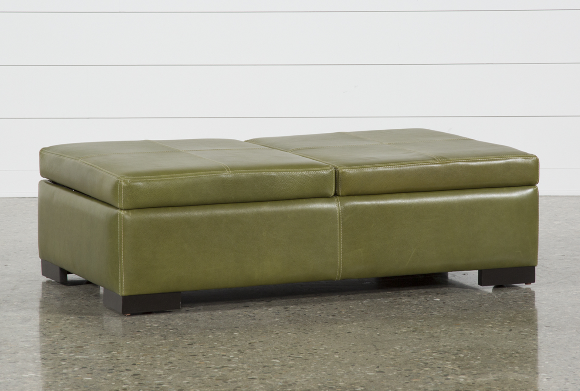Elm Grande II Leather Storage Cocktail Ottoman (Qty: 1) Has Been  Successfully Added To Your Cart.