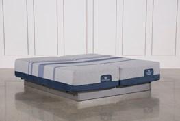 Blue Max 1000 Cushion Firm California King Split Mattress Set