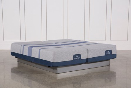 Blue Max 1000 Cushion Firm California King Split Mattress Set