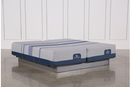Blue Max 1000 Cushion Firm California King Split Mattress Set - Main