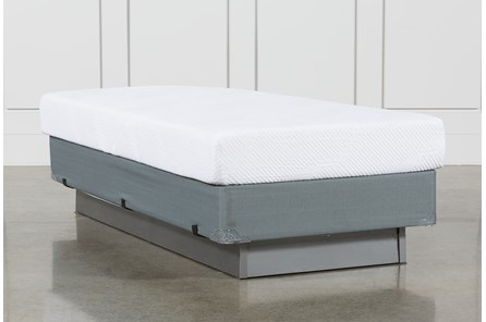 Essentials 8 Inch Foam Twin Mattress W/Foundation - Main