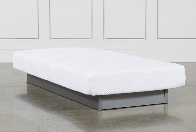 Essentials 8 Inch Foam Twin Extra Long Mattress Living Spaces