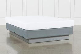 Essentials 8 Inch Foam Full Mattress W/Foundation