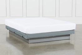 Essentials 8 Inch Foam Full Mattress W/Low Profile Foundation
