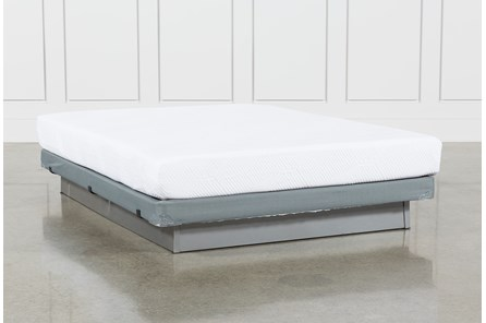 Essentials 8 Inch Foam Queen Mattress W/Low Profile Foundation - Main