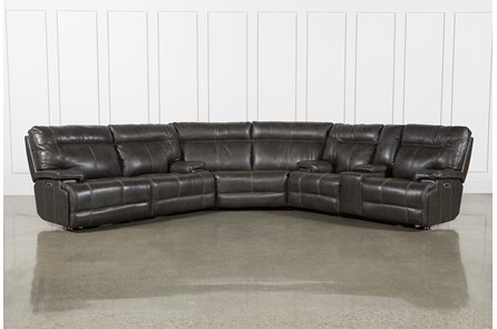 Marius Dark Grey 3 Piece Sectional