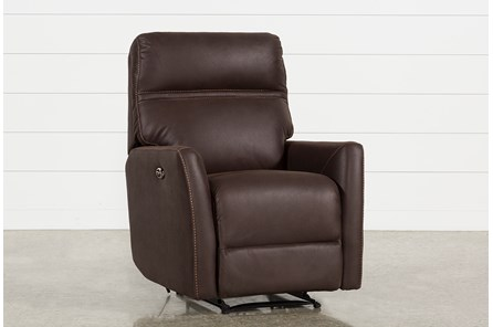 Siri Dark Chocolate Power Recliner - Main