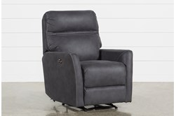 Siri Dark Grey Power Recliner