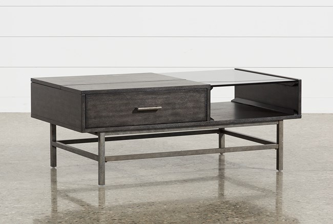 Kasey Lift-Top Cocktail Table - 360