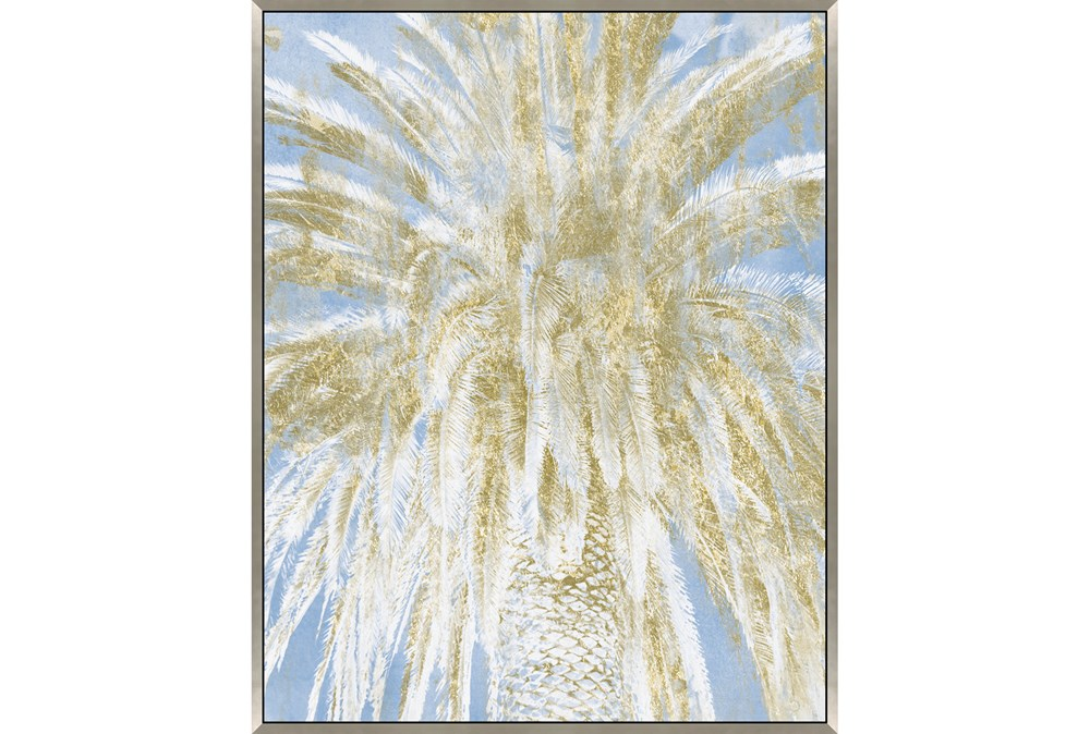 Picture-Palm Tree With Glitter 38X50