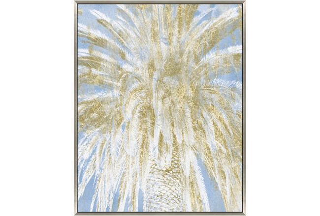 Picture-Palm Tree With Glitter 38X50 - 360