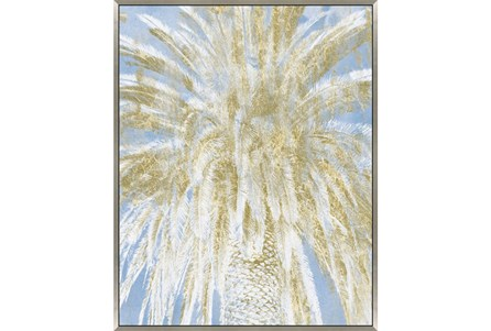Picture-Palm Tree With Glitter 42X52