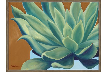 32X42 Agave Painting - Main