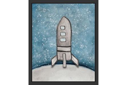 18X22 Kids + Teen Galaxy Rocket Ship I - Main