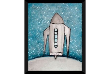 Picture-Kids + Teen Galaxy Rocket Ship II 18X22