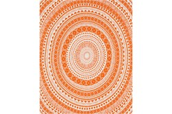 Accent Throw-Suzani Orange