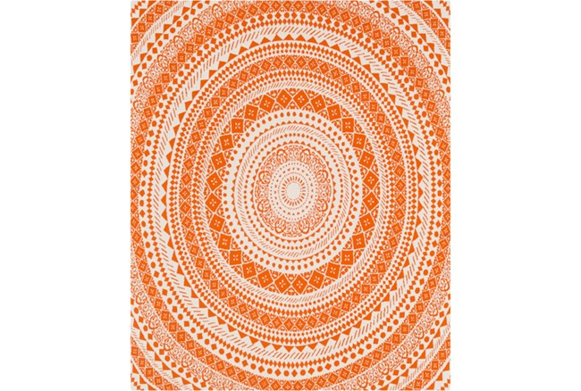 Accent Throw-Suzani Orange - 360