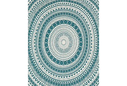Accent Throw-Suzani Teal