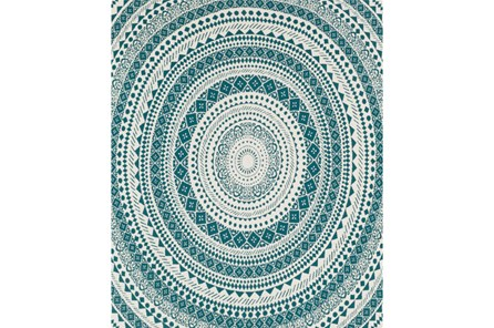 Accent Throw-Suzani Teal - Main
