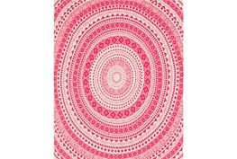 Accent Throw-Suzani Pink