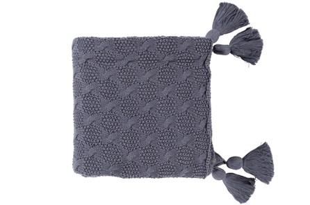Accent Throw-Tassel Grey - Main