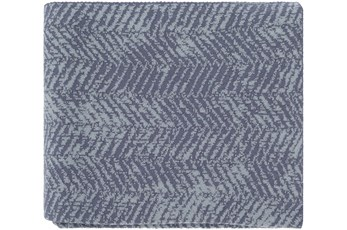 Accent Throw-Worn In Herringbone Slate
