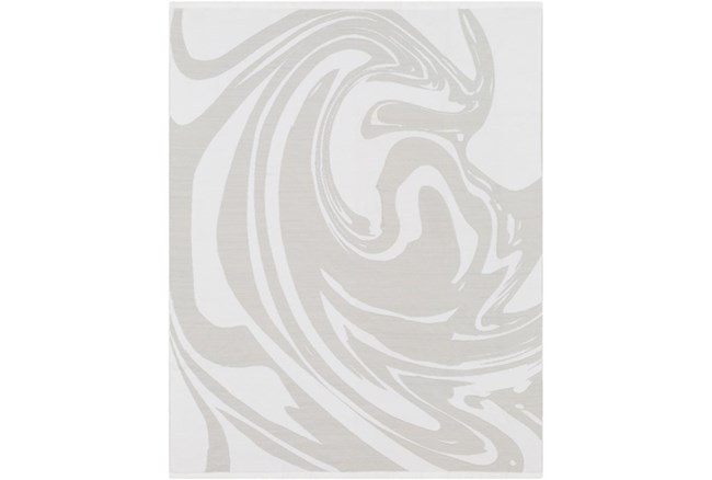 Accent Throw-Swirl Grey - 360