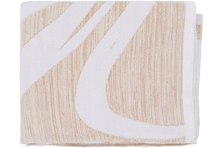 Accent Throw-Swirl Taupe