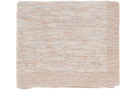 Accent Throw-Cotton And Lurex Copper
