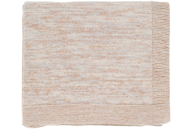 Accent Throw-Cotton And Lurex Copper - 360