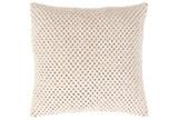 Accent Pillow-Crochet Cotton Cream 18X18 - Signature