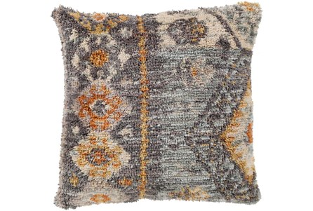 Accent Pillow-Shaggy Southwest Blue 18X18